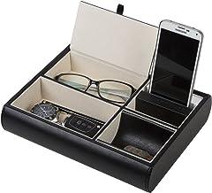 JackCubeDesign Organizador de secador de pelo Soporte Bandeja de herramientas 3 agujeros MK154D Blanco