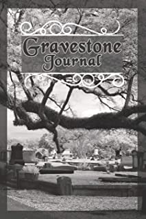 Gravestone Journal: Log Book for Cemetery Research