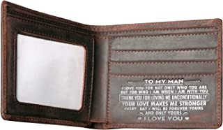 Men's Wallets,Minimalist Biflod Leather Wallet,Silm Purses,Gift for men at Birthday,Valentine's Day,Anniversary.
