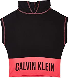 Calvin Klein Hoodie for Girls - Black Size 4-5 Years