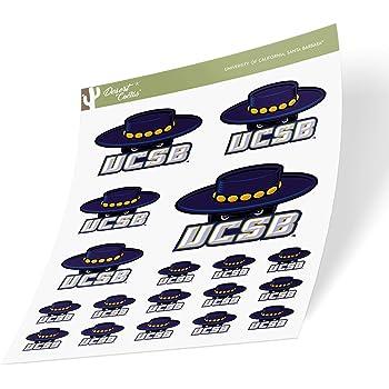70s Name Sticker University of California Santa Barbara UCSB Gauchos NCAA Vinyl Decal Laptop Water Bottle Car Scrapbook