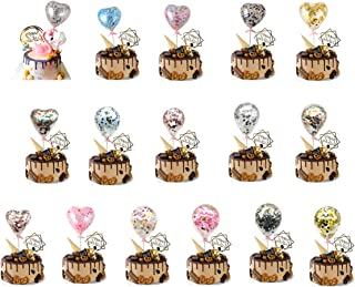 Best mini confetti balloon cake topper Reviews
