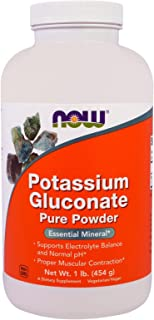 NOW Foods Potassium Gluconate - 1 lb