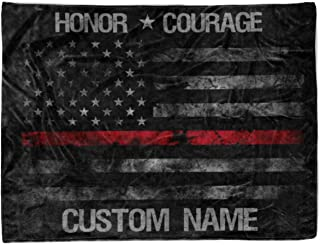 Best custom fire department blankets Reviews