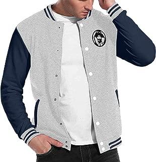 Snoop Dogg Mens Vintage Hoodie Baseball Uniform Jacket Sport Coat