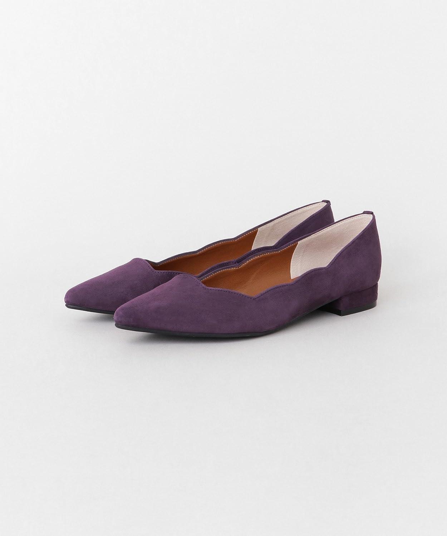 [アーバンリサーチ ロッソ] 靴 パンプス 【WEB限定】 スカラップフラットシューズ レディース
