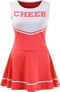 OurLore Women's Musical Uniform Fancy Dress Cheerleader Costume Outfit