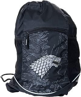 Game of Thrones House Sigil Cinch Bag (Stark)
