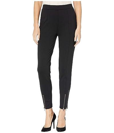 MICHAEL Michael Kors Ponte Zip Leggings (Black) Women