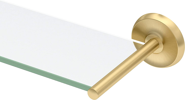 Gatco Desinger II Sale item Glass Superior Brushed Brass Shelf