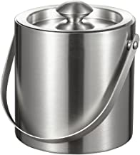 Visol Francois Stainless Steel Double Wall Ice Bucket, 3-Liter
