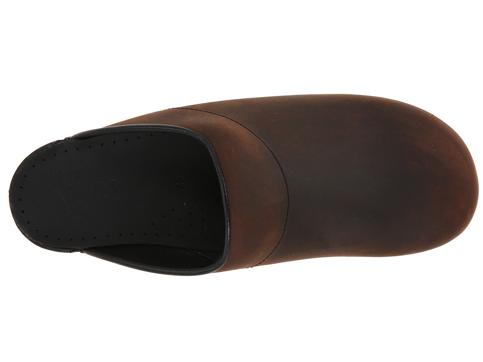Brown Karl Dansko black Sole Antique PwEqFdxXO