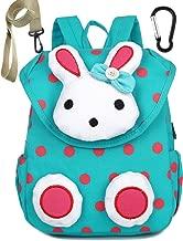 Toddler Kids Backpack Harness Rabbit for Boy Girl Leash Under 3 Year (Color-Green)