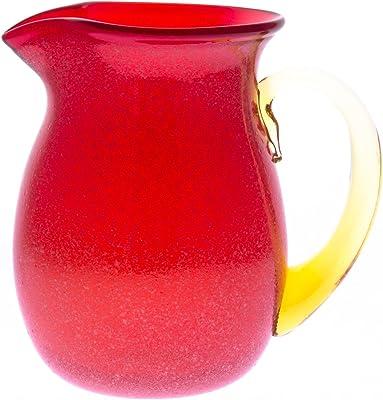 アールジーシー(RGC) 花器 オレンジ サイズ:径120×高150mm ビール・ウィスキー用品