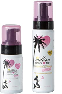 Million Dollar Tan - Mermaid Mousse Face and Body Bundles (Mermaid Mousse Extreme Face and Body - Extreme)