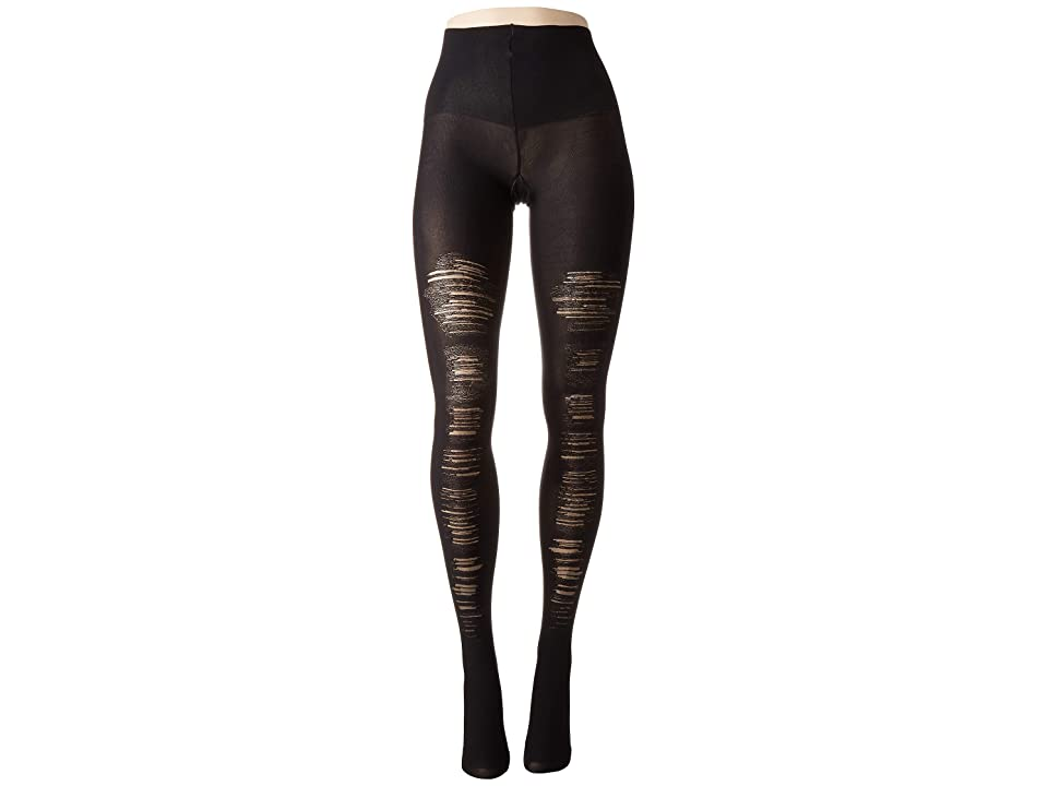 Spanx Destroyed Tummy Shaping Tights (Very Black) Hose