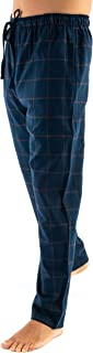 Pantalón de Pijama Suelto de Hombre Pantalón de Pijama Caballero de Entretiempo de clásico de a Rayas o Cuadros Ropa de Dormir para Hombre Popelín de algodón