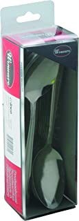 Winco 24-Piece Dominion Dinner Spoon Set, 18-0 Stainless Steel