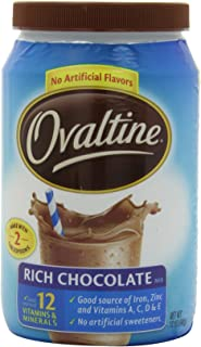 Ovaltine Rich Chocolate - 12 oz - 6 pk