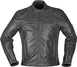 Modeka Vincent Aged Motorrad Lederjacke Schwarz XL