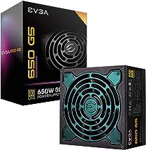 EVGA 220-G5-0650-X1 Super Nova 650 G5, 80 Plus Gold 650W, Fully Modular, ECO Mode with Fdb Fan, 10 Year Warranty, Compact ...