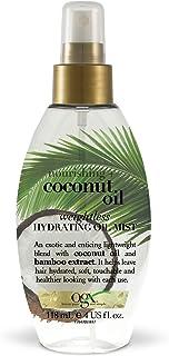 comprar comparacion OGX Leche de Coco, aceite hidratante ligero en spray - 118 ml