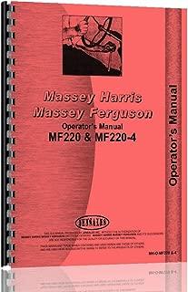 Massey Ferguson 220 220-4 Tractor Operators Manual (MH-O-MF220 and-4)