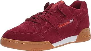 Men's Workout Plus Sneaker Collegiate Burgundy/Carotene/White/Gum 7.5 M US