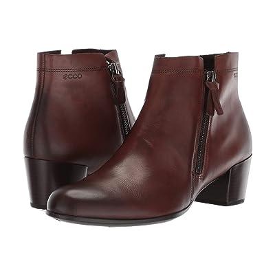 ECCO Shape M 35 Ankle Bootie (Brown Full Grain Leather) Women