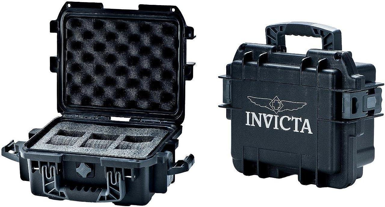 Invicta DC3BLK 2021 new Black 3-slot Case Watch Ranking TOP7 Collectors