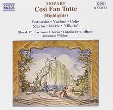 Cosi Fan Tutte highlights