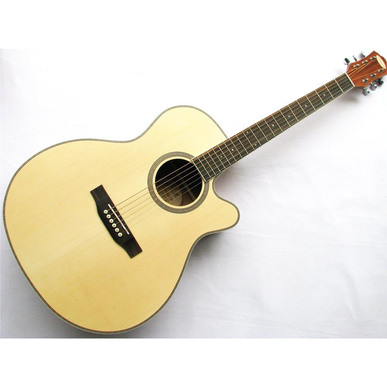 saysn S-0032 Neytiri 41-Inch Dreadnought Guitarra Acústica (llave ...