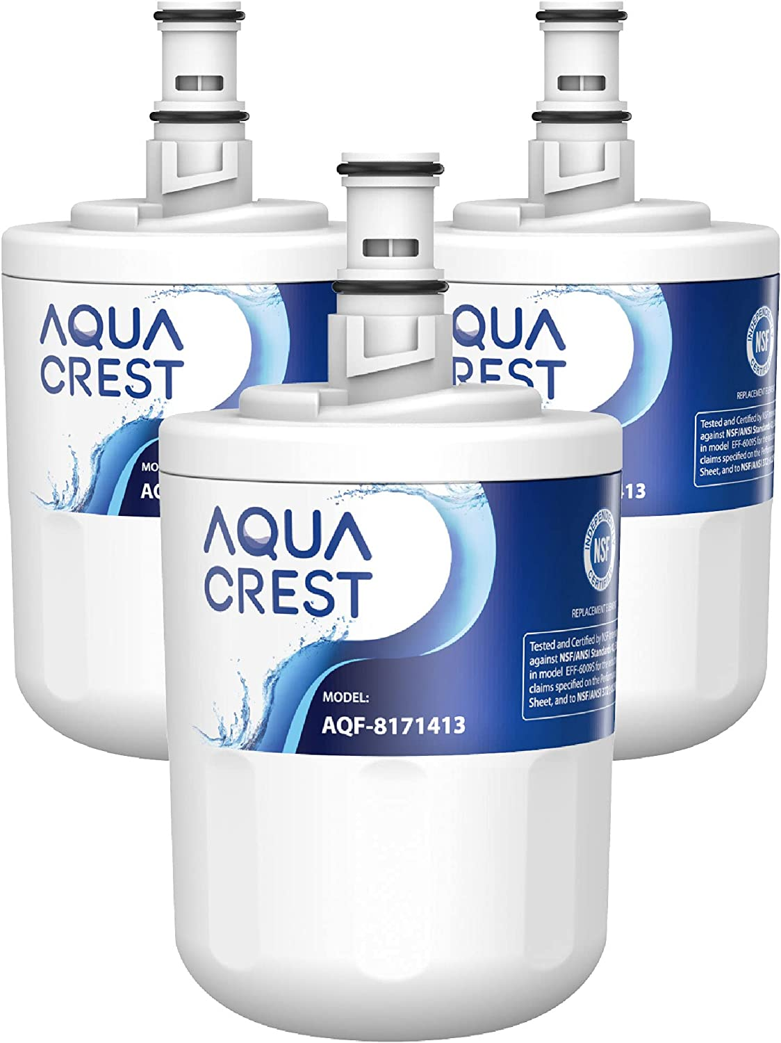 AQUA CREST 8171413 Refrigerator Water Filter Wh for New Surprise price products world's highest quality popular Replacement