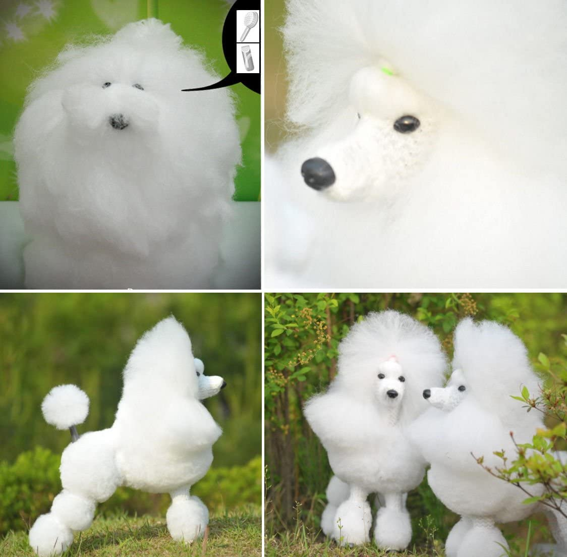Dog Model Mannequin + Los Angeles Mall Wig Pr lowest price Grooming for Show Clip