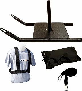 Workoutz 经济型快速滑行带,带电源线束和拉带