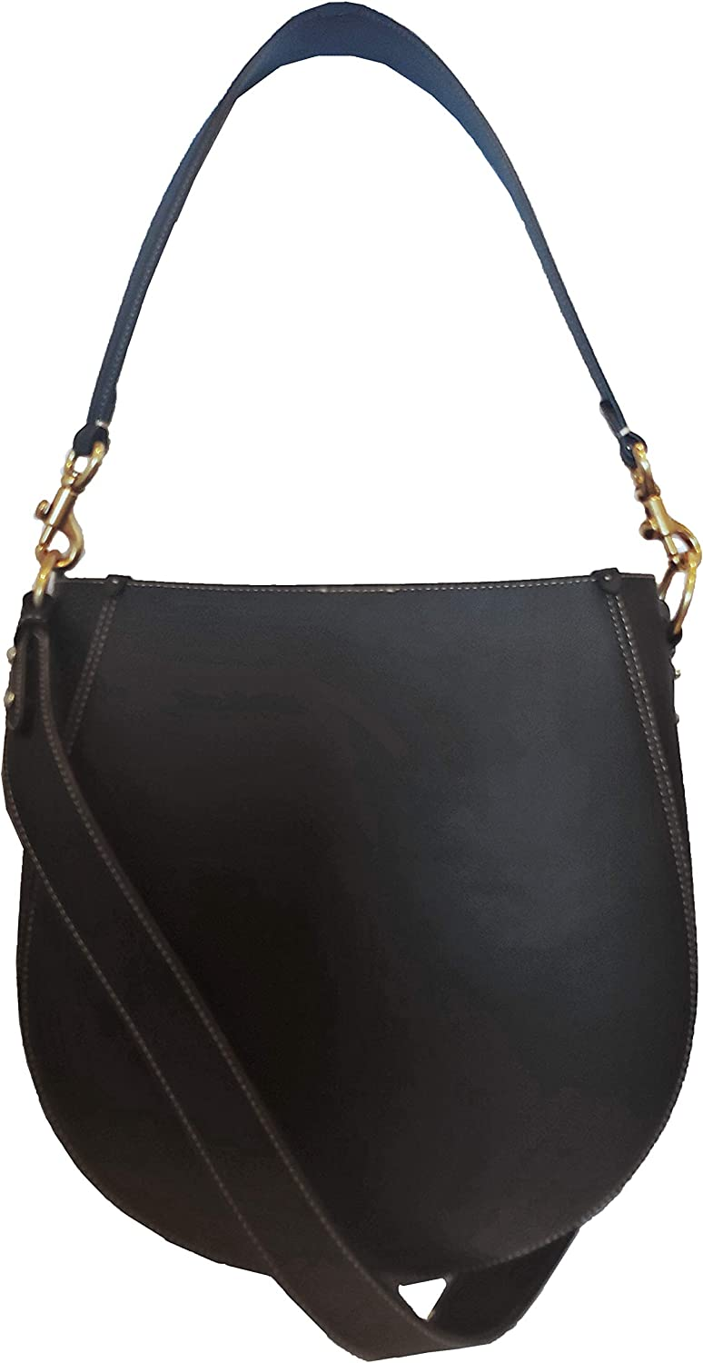 Coach Maddy Black Glovetanned Leather Hobo Style 88344