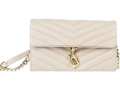 Rebecca Minkoff Edie Wallet On Chain (Cashmere) Handbags