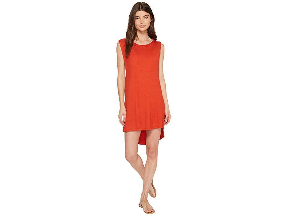 Isabella Rose Paradise Dress Cover-Up (Paprika) Women