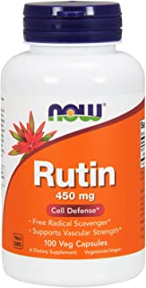 Now Foods, (2 Pack) Rutin, 450 mg, 100 Veggie Caps
