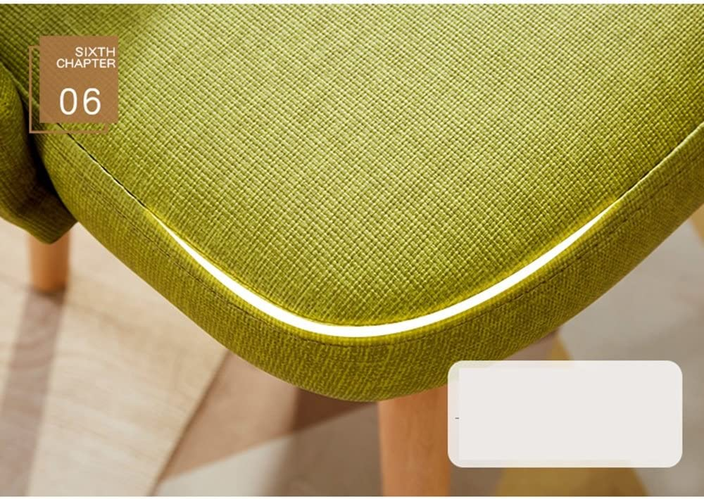 Pouf repose-pieds Chaise européenne/chaise d'ordinateur d'étude simple moderne/tabouret de maison/chaise de salle à manger pour adultes (Color : B) D