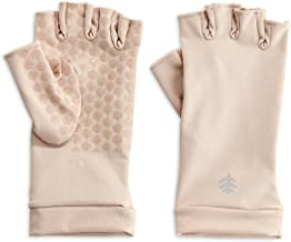 Coolibar UPF 50+ Men's Women's Ouray UV Fingerless Sun Gloves - Sun Protective