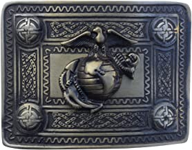 maine belt buckle