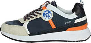 NORTH SAILS Sneaker Navy Orange RW-01WAVE-017