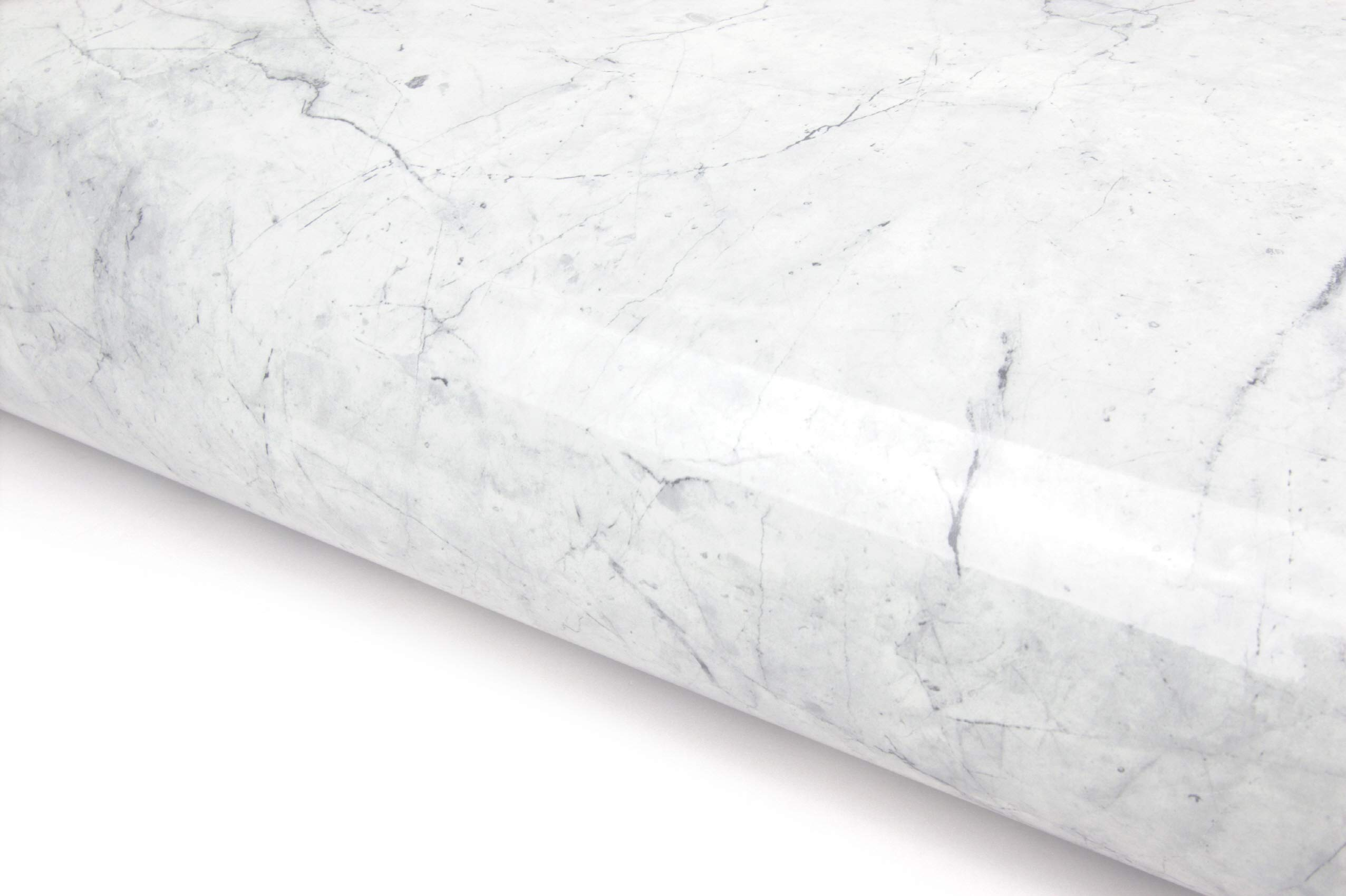 Espier Marble Contact Paper Self-Adhesive Film Table Cover Wall Decor Sticker Waterproof Decorative Marble for Kitchen Countertop Cabinet Furniture 16inx79in