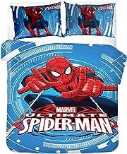 AINYD Spiderman Housse De Couette 220x240cm Enfant, Marvel Housse Couette Enfant, Marvel Spiderman Housse Couette, Housse ...