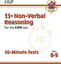 New 11+ CEM 10-Minute Tests: Non-Verbal Reasoning - Ages 8-9