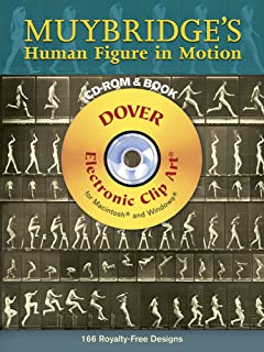 Muybridge's Human Figure in Motion (Dover Electronic Clip Art) (CD-ROM and Book)