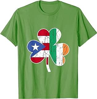 Ireland Irish Puerto Rican St Patrick's Day TShirt