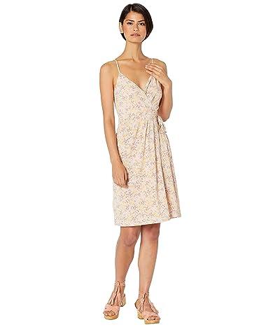 BCBGeneration Cocktail Faux Wrap Knit Dress (Rose Smoke) Women