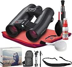 Leica 8x42 Geovid HD-R 2700 Rangefinder Binocular (Black) - Exclusive Outdoors Binoculars Kit